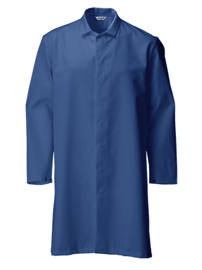 royal blue food trade coat unisex