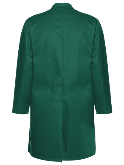 alsico food trade coat - bottle green