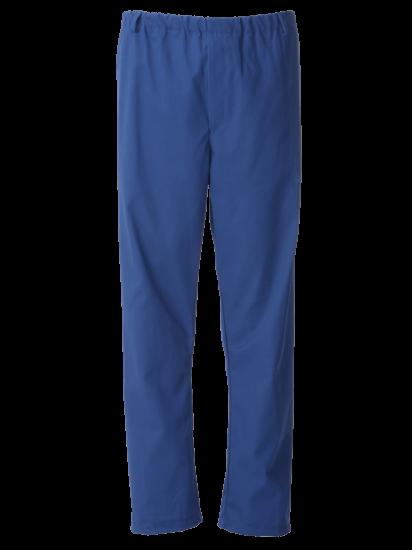 royal blue food trade trouser full elasticated waist