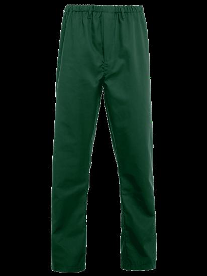 bottle green food trade trouser full elasticated waist