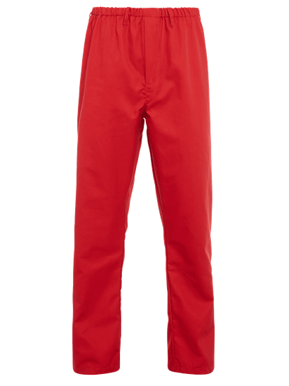 red food trade trouser full elasticated waist