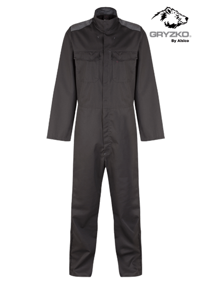 black and convoy grey gryzko bi coverall