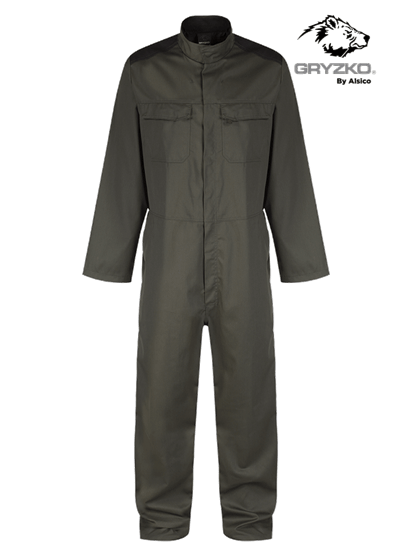 racing green and black gryzko bi coverall