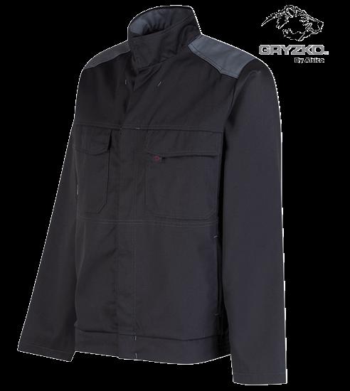 side angle of convoy grey gryzko bi jacket