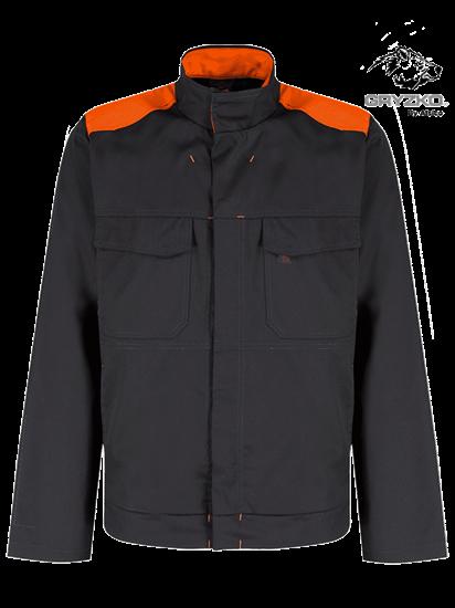 orange and black gryzko bi jacket