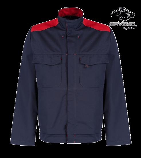 blue shadow and empire red gryzko bi jacket