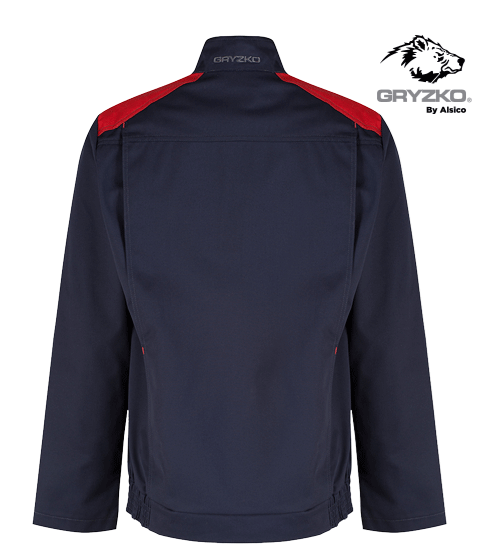 back of blue shadow and empire red gryzko bi jacket