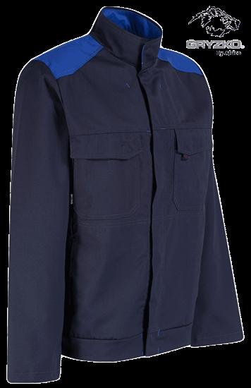 navy and royal blue gryzko bi jacket