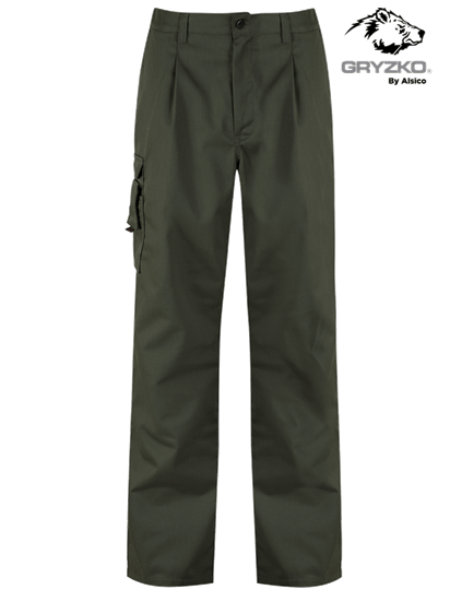 racing green cargo trouser gryzko