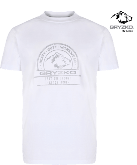 heavyweight polycotton t-shirt super white