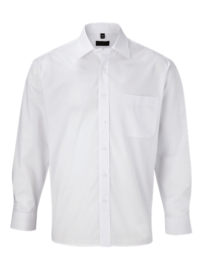 super white male long sleeve shirt