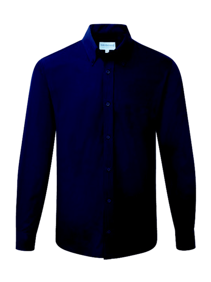 male long sleeve shirt in navy