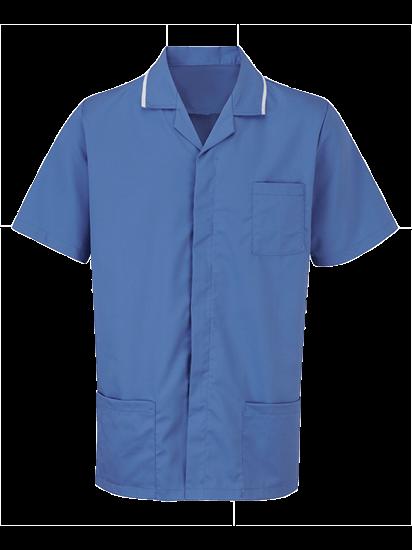 hospital blue advantage tunic male
