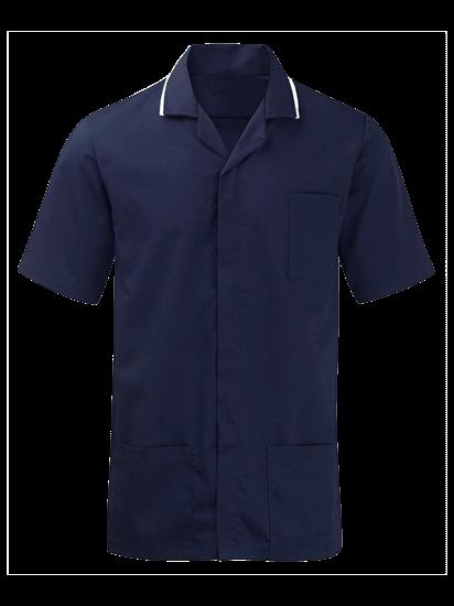 male advantage tunic in navy