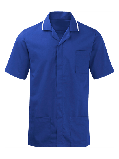 royal blue advantage tunic for males
