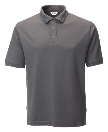 performance stud polo in convoy grey
