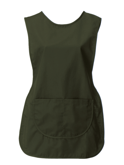 racing green tabard with pocket