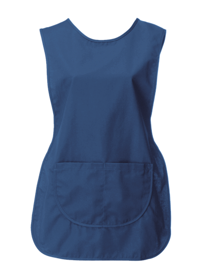 royal blue tabard with pocket