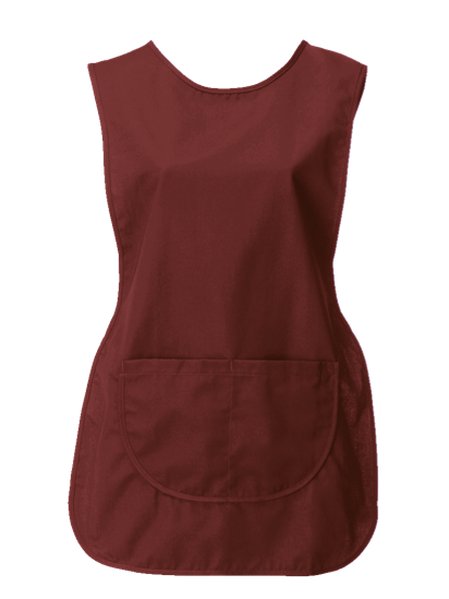 tabard with pocket in smokeberry