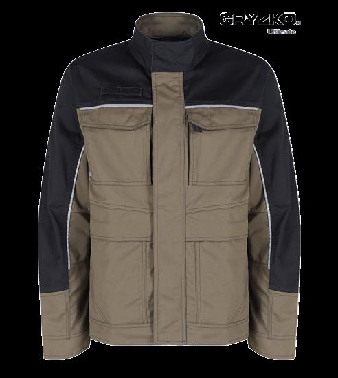 ultimate gryzko jacket in oak brown and black