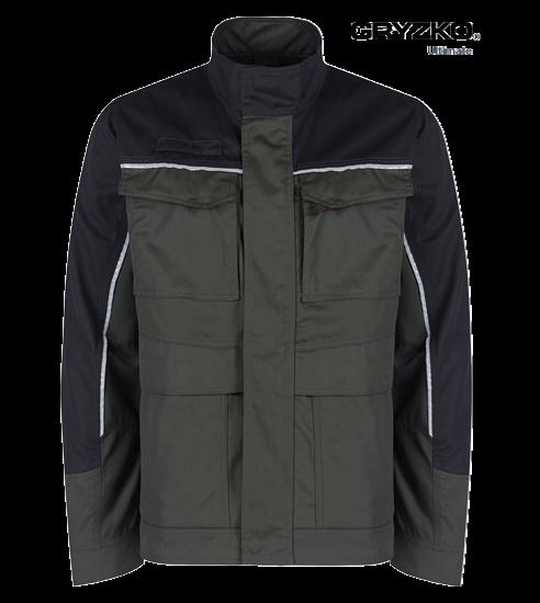 racing green and black ultimate gryzko jacket