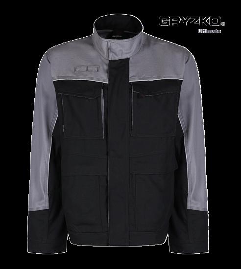 black and graphite grey ultimate gryzko jacket