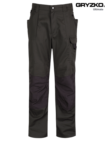 racing green and black ultimate gryzko trouser