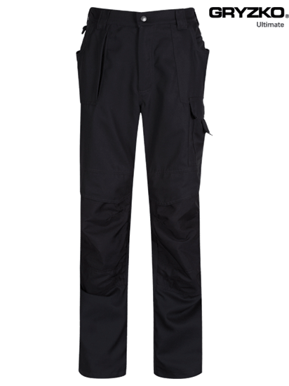 black ultimate gryzko trouser