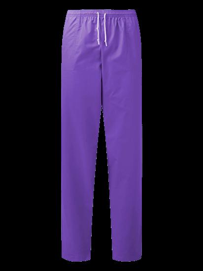 unisex scrub trouser in amethyst