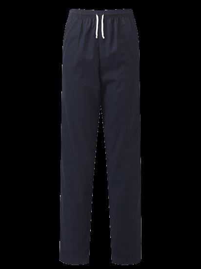 navy unisex scrub trouser