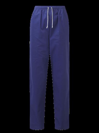 unisex scrub trouser in royal blue