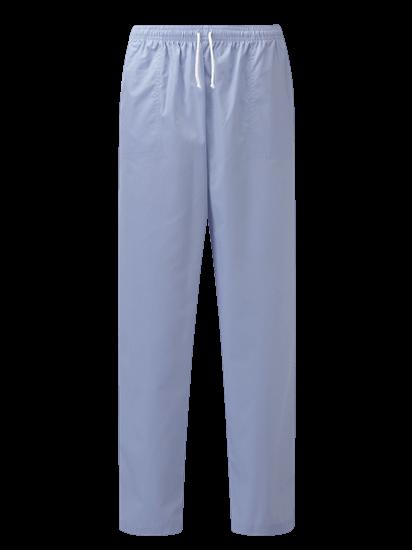 sky blue unisex scrub trouser