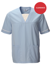 Picture of Unisex Medical Scrub Top (145gsm) - Light Blue