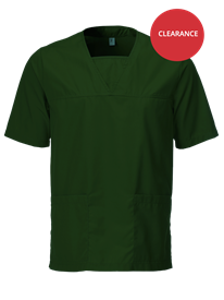 Picture of Unisex Scrub Top - Racing Green
