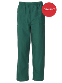 Picture of Unisex Scrub Trouser - Bottle Green (145gsm)