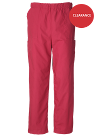 Picture of Unisex Scrub Trouser - Raspberry (145gsm)