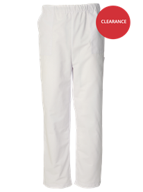 Picture of Unisex Scrub Trouser - White (145gsm)