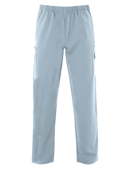 Picture of 4-Way Stretch Male Scrub Trouser - Sky Blue