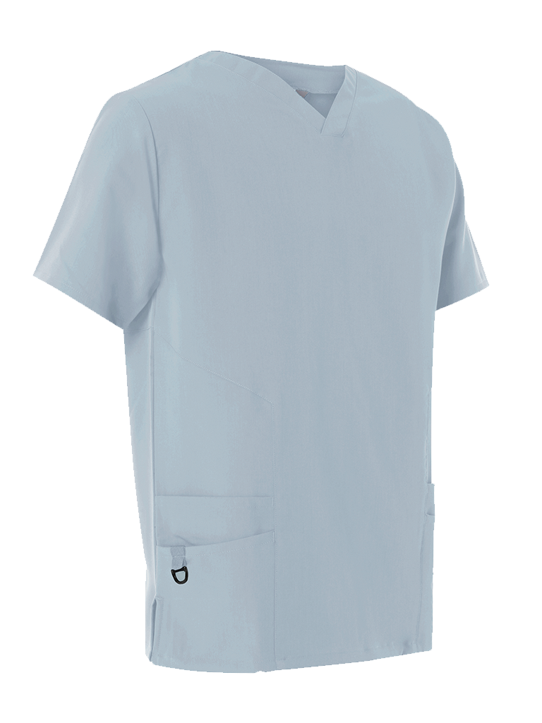 Picture of 4-Way Stretch Male Scrub Tunic - Sky Blue