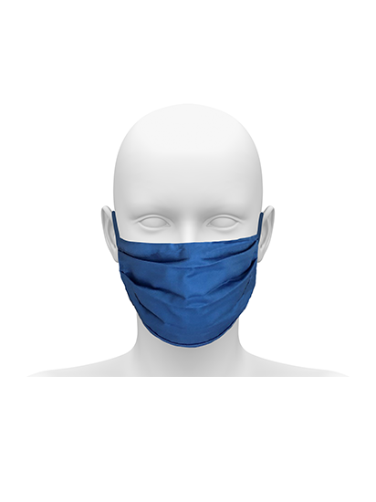 Picture of Reusable Face Mask with Elasticated Earloop - Hospital Blue