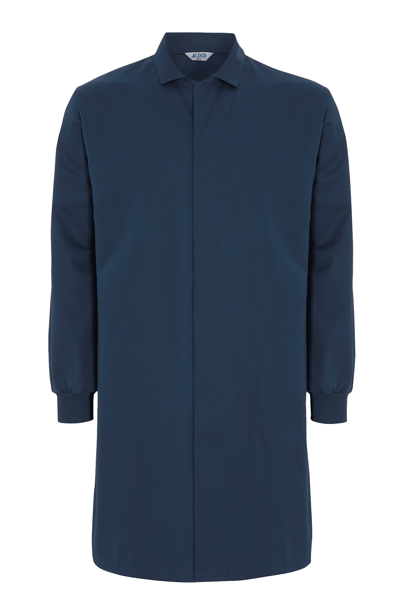 Picture of Food Trade Coat with Knitted Cuffs (245gsm) - Navy