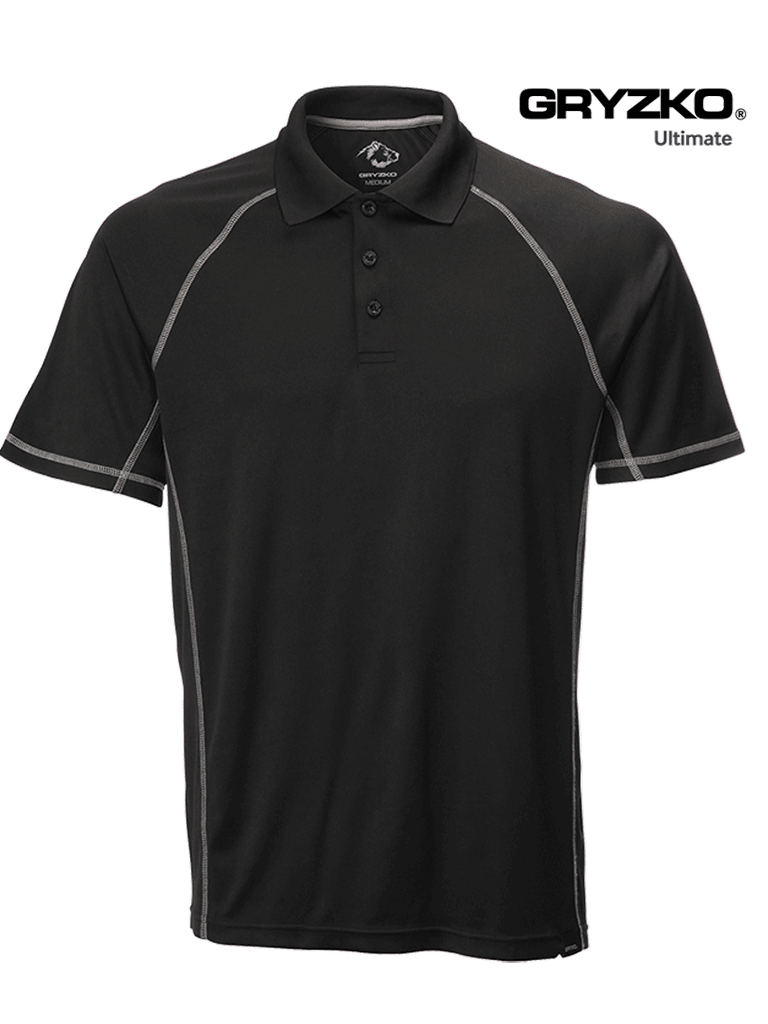 Picture of Gryzko® Ultimate Polo - Black