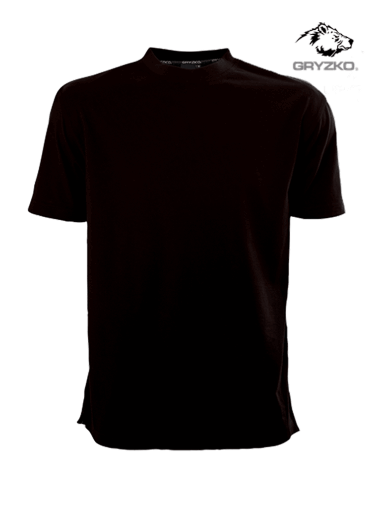 gryzko heavyweight t-shirt in black