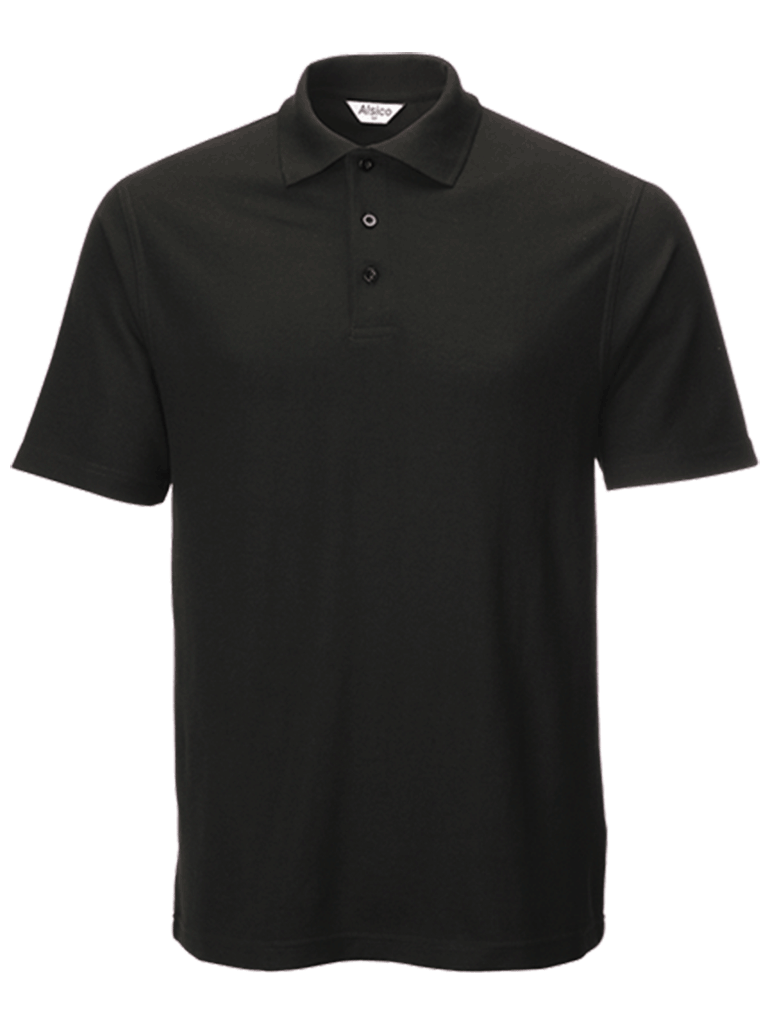 classic polo shirt black