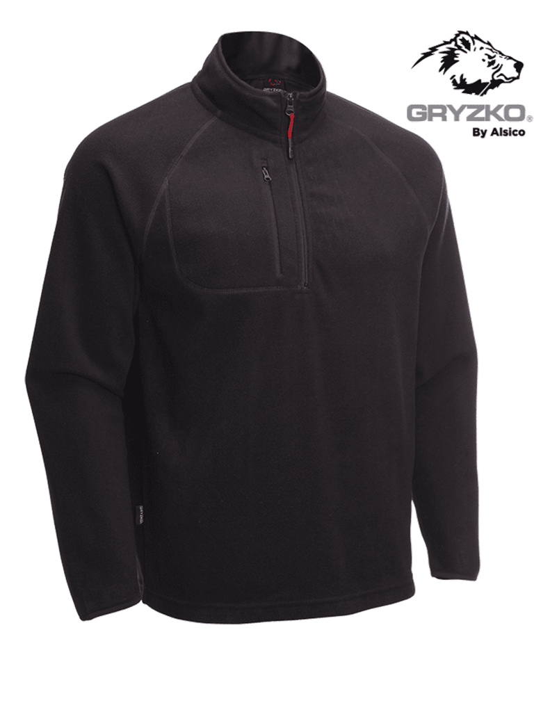 Picture of Gryzko® Half Zip Micro Fleece - Navy