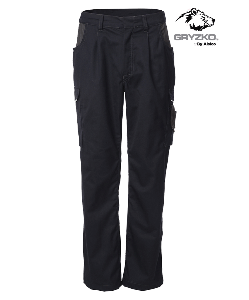 Picture of Gryzko® Classic Trouser Blue Shadow Navy/Charcoal