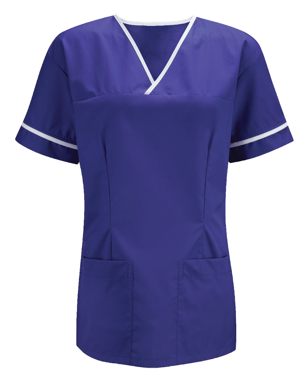 Picture of Unisex Smart Scrub Tunic - Royal
