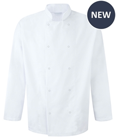 Picture of Unisex Long Sleeve Studded Chefs Jacket