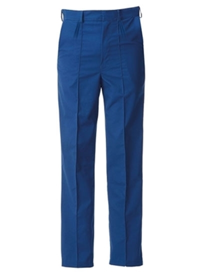 Picture of Food Trade Trouser with Half Elasticated Waistband No Pocket (245gsm) - Royal Blue