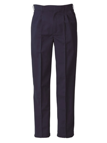 Picture of Food Trade Trouser Half Elasticated Waistband (245gsm) - Navy